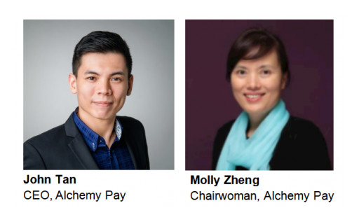 Alchemy Pay COO John Tan Succeeds Molly Zheng as CEO