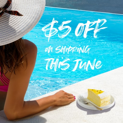 Lady M New York Launched Summer Online Shipping Special