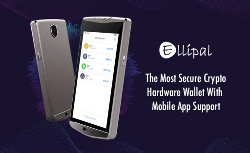 ELLIPAL - the Safest and Most Accessible All-in-One Cold Wallet