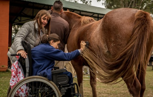 Suzette Belgarde Looks at Hippotherapy and Parkinson's Disease
