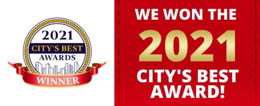 Alencar Family Dentistry Wins 2021 City's Best Award
