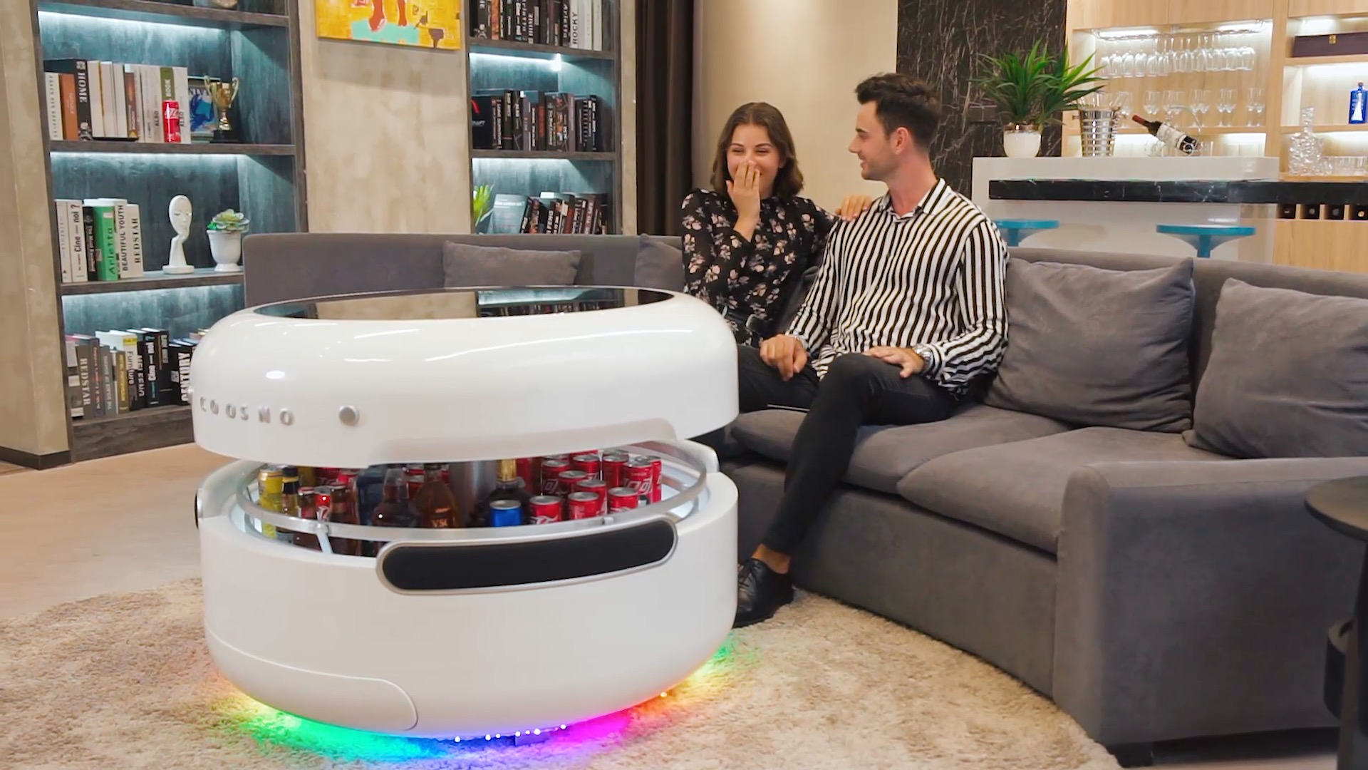 Coosno Redefines The Coffee Table With A Voice Controlled