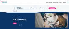 International Association of Women Community Dashboard