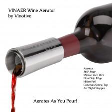 Vinaer Wine Aerator by Vinotive
