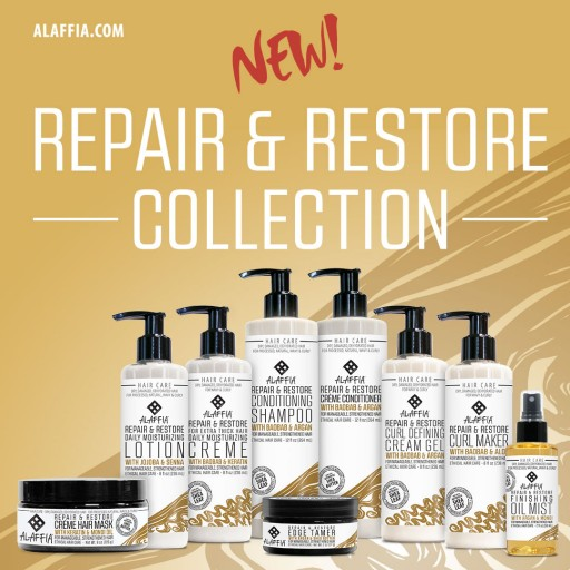 Alaffia Introduces the Repair & Restore Collection for Quenched, Hydrated and Strengthened Hair