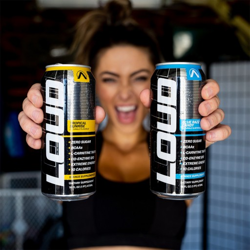 LOUD™ ENERGY DRINK BY STANCE SUPPLEMENTS® LANDS EXCLUSIVELY AT NUTRISHOP® ALONG WITH #DrinkLOUD PLAYLISTS