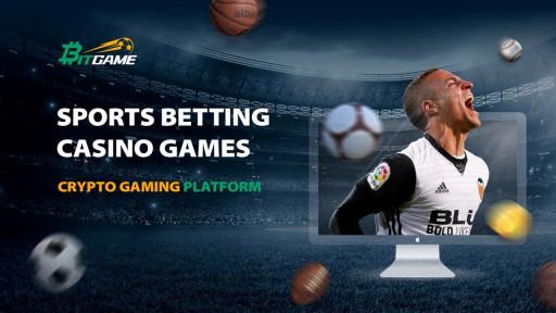 Bitgame Unveils All New Website -Blockchain-Powered Sports Betting Platform