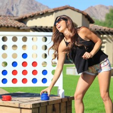 GoSports' Top Selling Giant Four in a Row Game