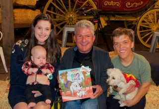 Matt Dedicates Children's Book to Jackson