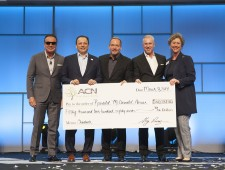 ACN Co-Founders with Ronald McDonald House Charlotte