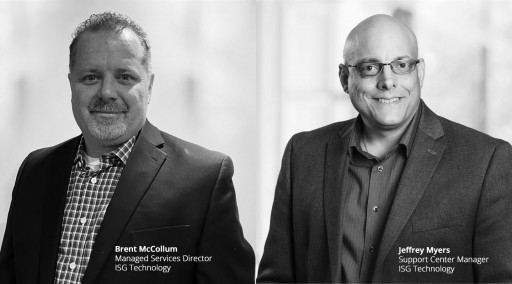 ISG Technology Ramps Up Mid-Market Managed Service Offering With Two IT Veterans