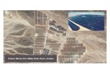 Falcon Ma'an 23.1 MWp Solar Farm, Jordan - Aerial