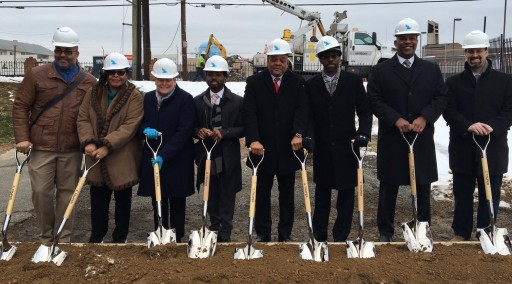 The Michaels Organization, Emmanuel Baptist Church and APDC Host Groundbreaking for Ainger Place Apartments