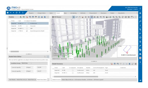HOOPS Web Platform Helps Take RIB's iTWO Construction Management Solution to the Cloud