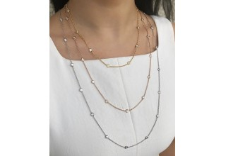 Miss Mimi necklaces available at Damiani Jewellers