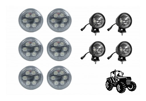 Larson Electronics Releases LED Tractor Light Package for John Deere 4230 Tractors, Cab Light Upgrade