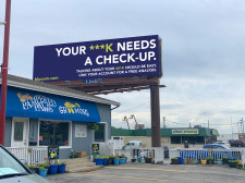 blooom Billboard 'Your 401k Needs a Check-Up'