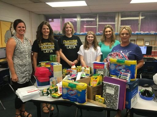 National Foundation Repair Company Donates School Supplies