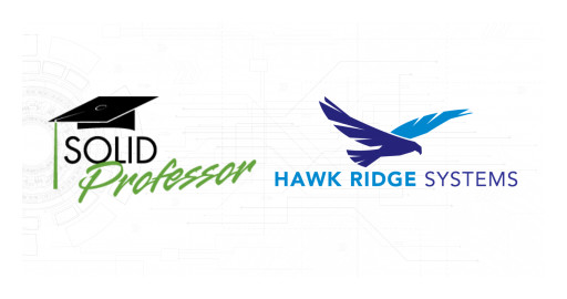 SolidProfessor and Hawk Ridge Systems Launch Strategic Partnership to Support the Evolving Needs of Engineers