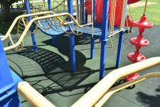 Interlocking Rubber Playground Tiles