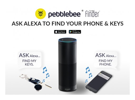 Pebblebee Now Lets You Ask Alexa to Find Your Keys and Phone on Amazon Alexa Enabled Device