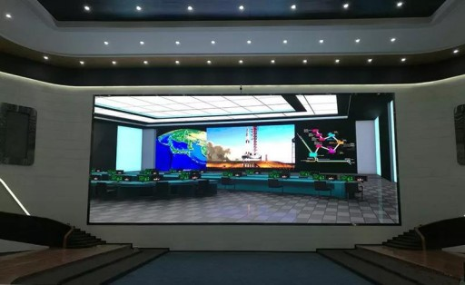 An Important Display Terminal of a Smart City -- Small Spacing LED Display -- HTJ