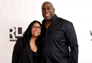 "Earvin ""Magic"" Johnson & Cookie Johnson"