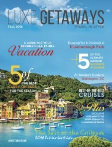 LuxeGetaways Magazine | Fall 2016