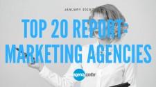 Top 20 Marketing Agencies January 2018