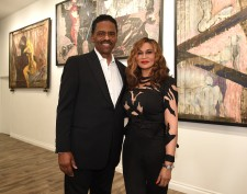 Richard Lawson & Tina Knowles Lawson