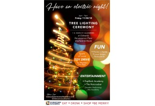 Downtown Alhambra Annual Tree Lighting Ceremony (Nov.30, 2018)