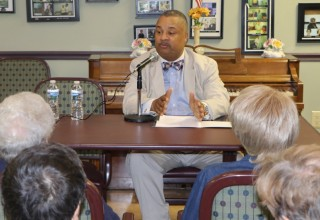 Rep. Donald Payne, Jr. at South Orange B'nai B'rith Federation House