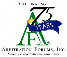 Arbitration Forums, Inc. Vertical Logo