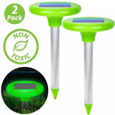 LED Solar Mole Repellent Stakes
