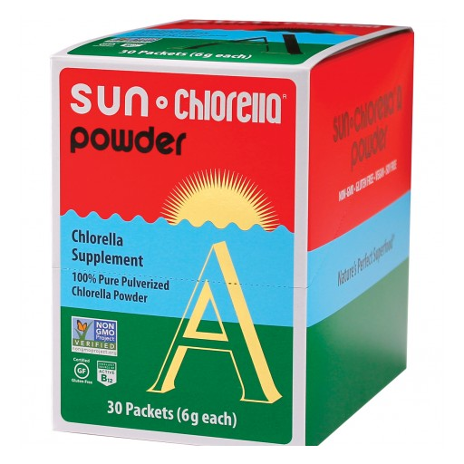 Sun Chlorella Corp. Achieves Non-GMO Project Verification and Introduces Exciting Individual Serving Packets of Powdered Chlorella