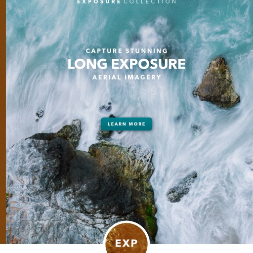 PolarPro's New Cinema Series Exposure Collection Allows Aerial Photographers to Capture Stunning Long Exposure Aerial Imagery