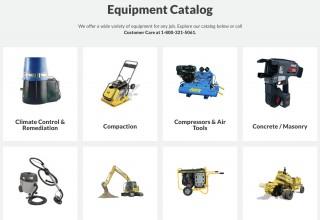 Vandalia Rental Equipment Catalog