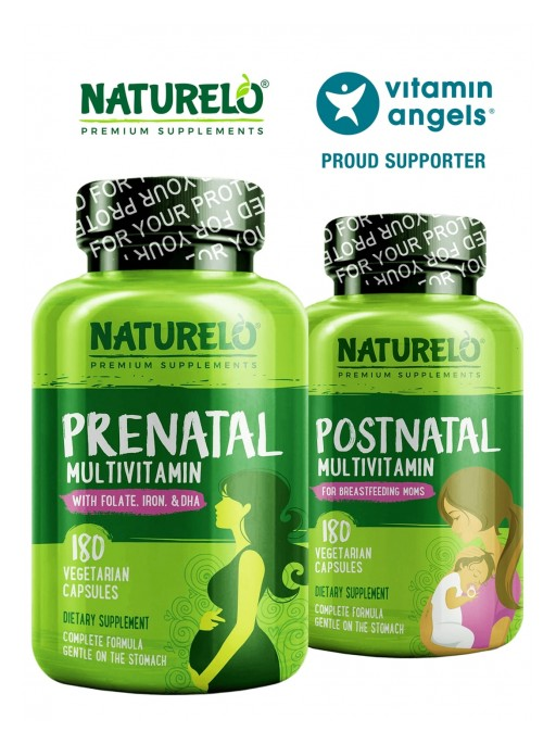 NATURELO Premium Supplements Partners with Vitamin Angels this Mother's Day to Reach Mothers in Need Worldwide