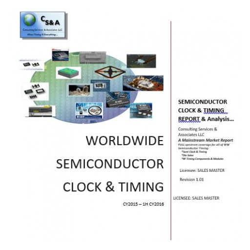 Latest Industry Report Show Semiconductor Timing  Revenues Continue to Fall as the Industry Shifts…