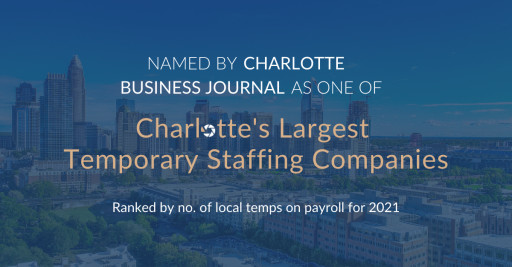 Search Solution Staffing Makes the List of Charlotte's Largest Temporary Staffing Companies