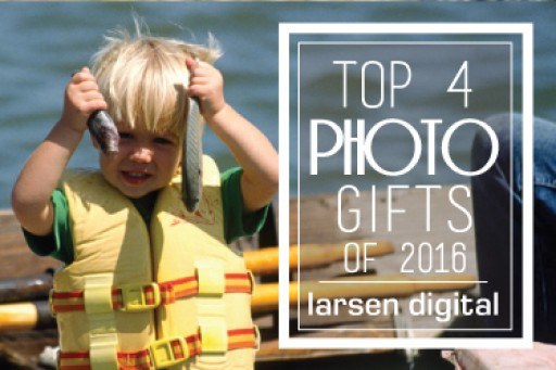 Top 4 Photo Gifts of 2016