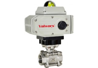 New 5618a Electric Actuator with Stainless Steel Ball Valve