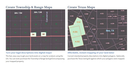 LandWorks Upgrades Web AutoMapper Online Mapping Service  … Now Includes USLandGrid