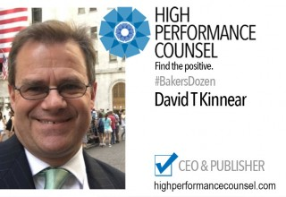 David Kinnear CEO of High Performance Counsel Media Group