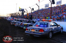 Dirt Oval 66 Welcomes More Than 30 Police Depts. for Fundraising Event