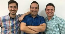 Ronny Lehmann (CTO), Gabby Menachem (CEO), Dror Mann (VP Product)