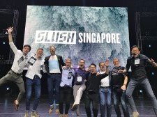 Best IoT Startup Award at Slush Singapore 2018