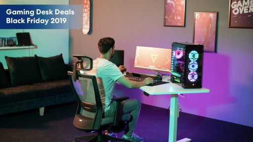 Autonomous' Best Gaming Desk Deals on Black Friday 2019