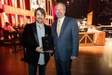 Jimmy Wayne receives Babineaux Award for Foster Care.