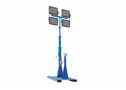 Larson Electronics Releases LED Light Tower, 1000W, 6.7' to 20', (4) LEDs With Diffusers, 50' Cord